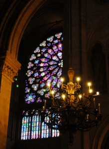 Rose Window Chandelier